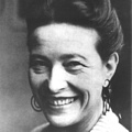 Inspirational Quotations by Simone de Beauvoir (French Philosopher)